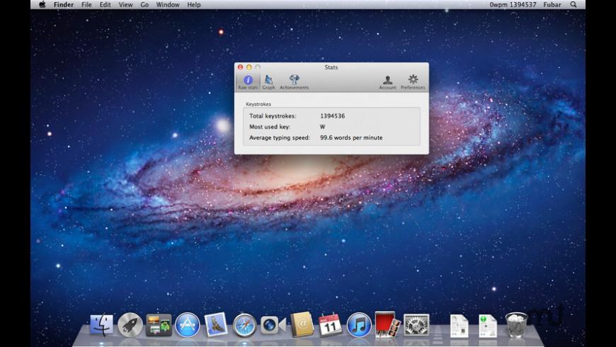 Typingstats for Mac - review, screenshots