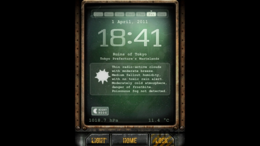 PipClock for Mac - review, screenshots