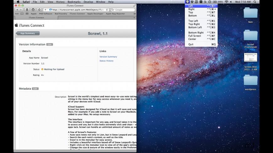 MoveWin for Mac - review, screenshots