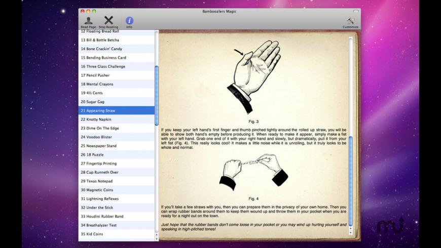 Bamboozlers Magic for Mac - review, screenshots