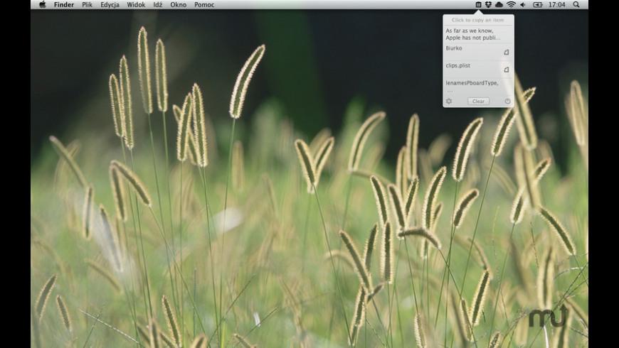 nice clipboard for Mac - review, screenshots