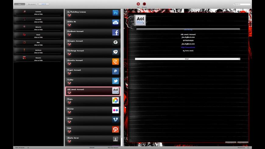 Encrypter SketchBook for Mac - review, screenshots