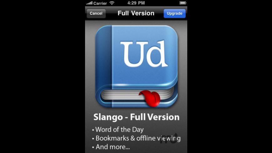 Slango Lite for Mac - review, screenshots