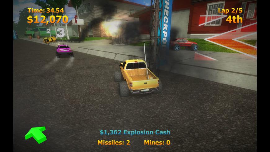 RC Mini Racers for Mac - review, screenshots