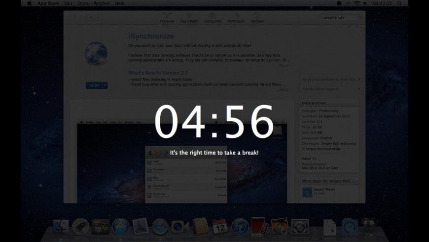 Smart Timer for Mac - review, screenshots