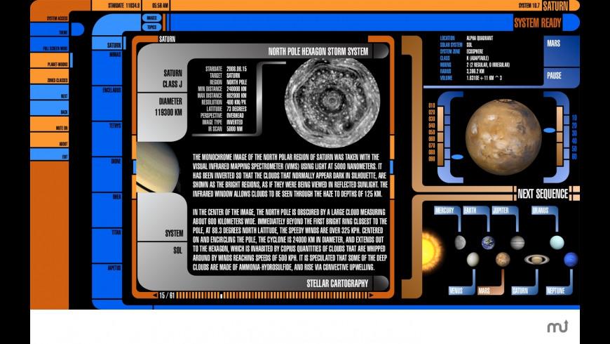 Saturn for Mac - review, screenshots