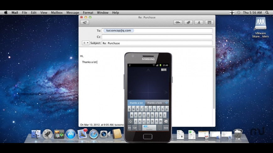 MouseServer for Mac - review, screenshots