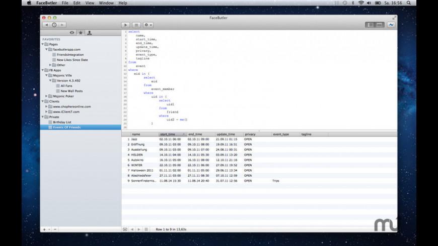 FaceButler for Mac - review, screenshots
