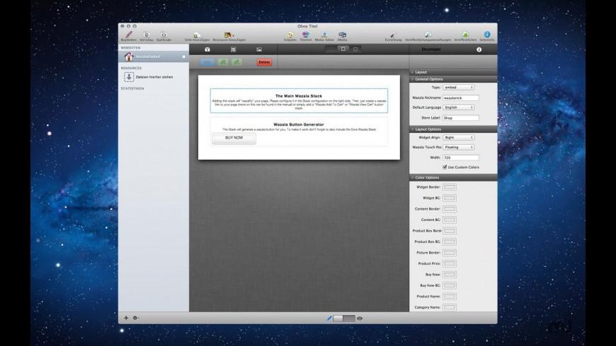 Wazala Stack for Mac - review, screenshots