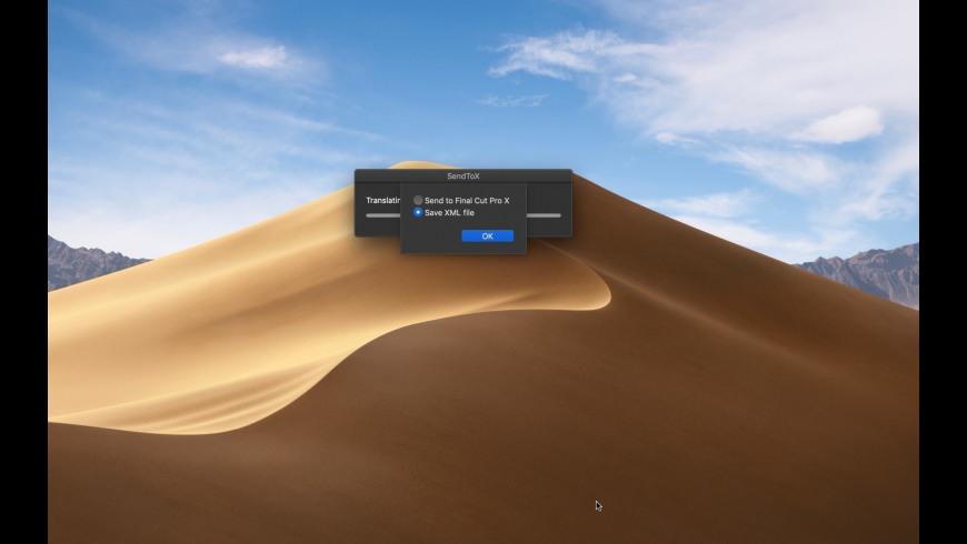 SendToX for Mac - review, screenshots