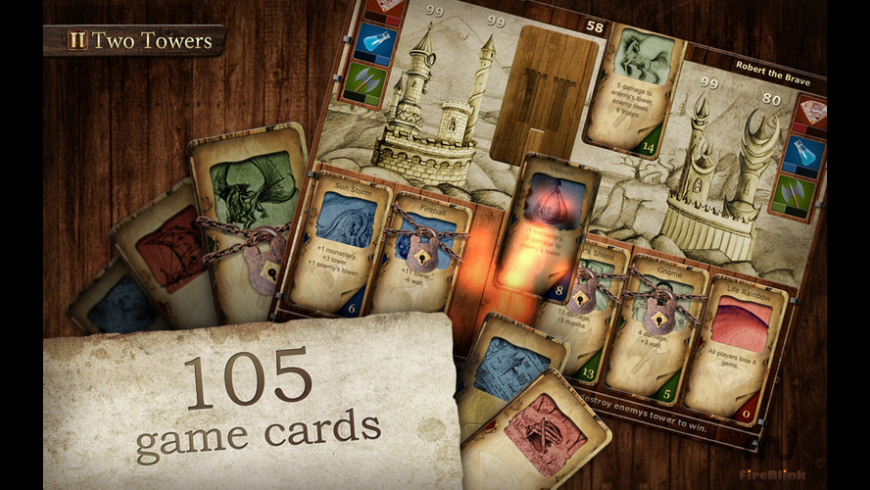 Two Towers for Mac - review, screenshots