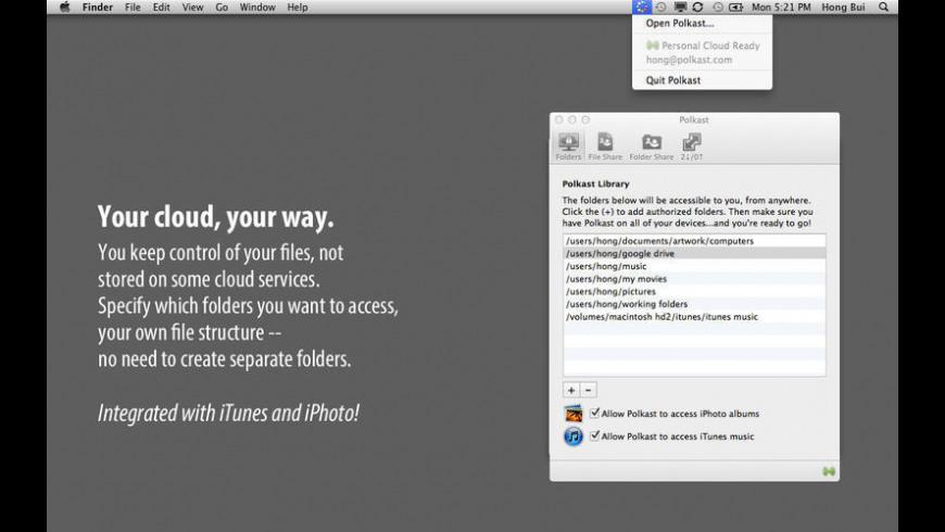 Polkast for Mac - review, screenshots