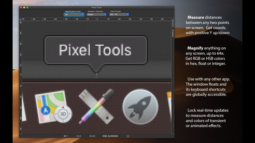 Pixel Tools for Mac - review, screenshots