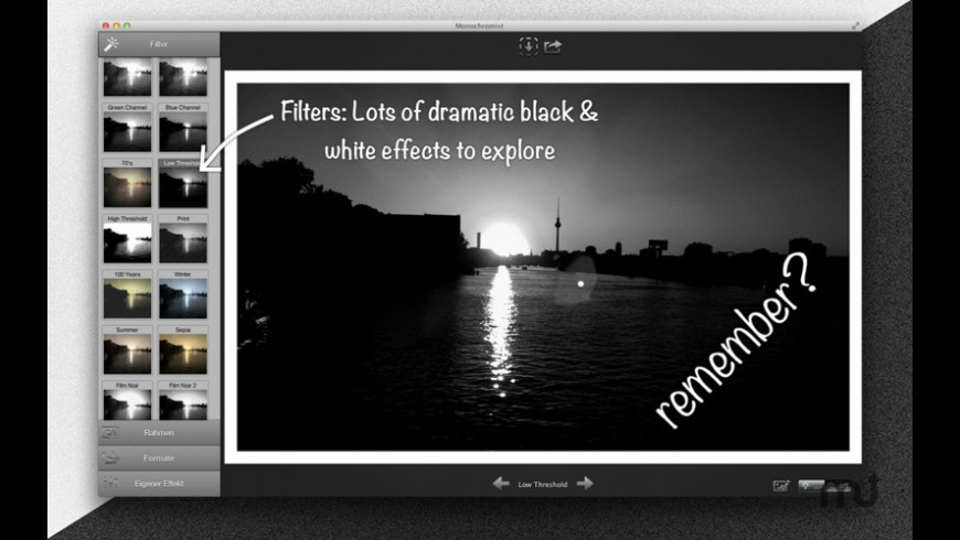 Monochromist for Mac - review, screenshots