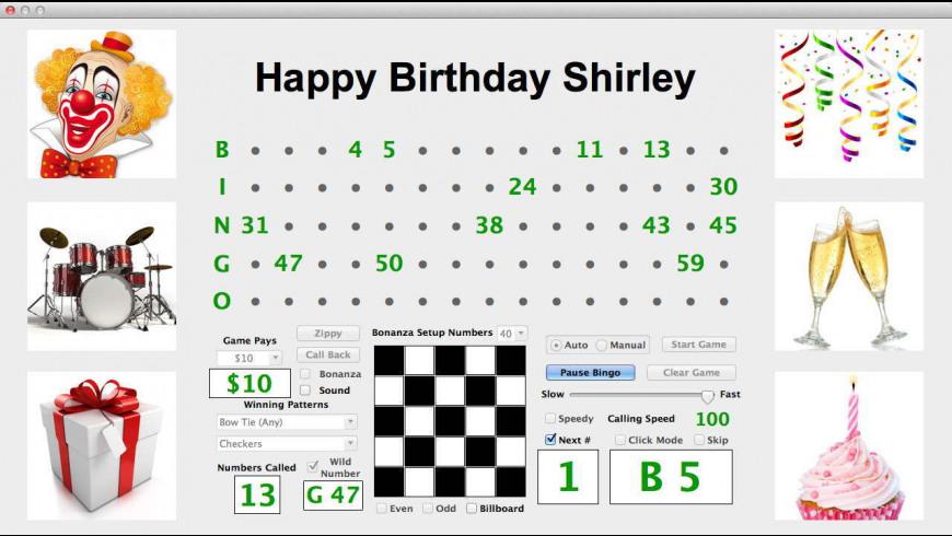 Business Bingo for Mac - review, screenshots
