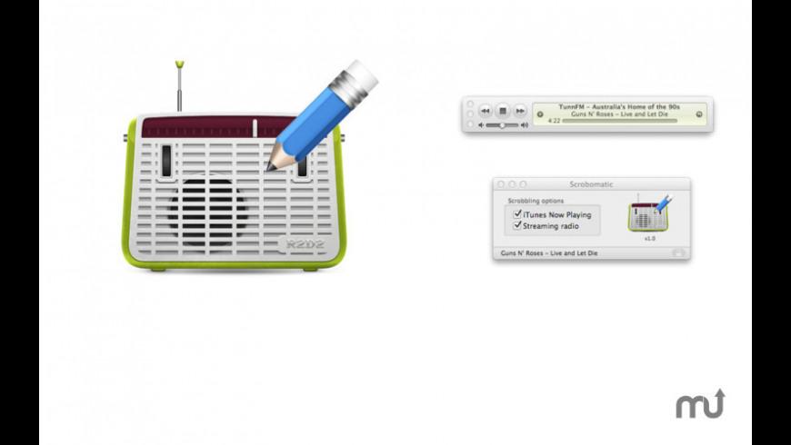 Scrobomatic for Mac - review, screenshots