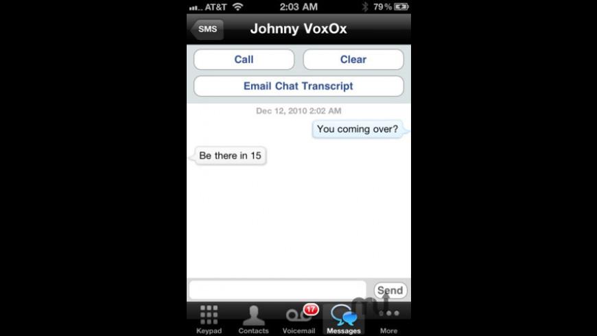 VoxOx Call for Mac - review, screenshots