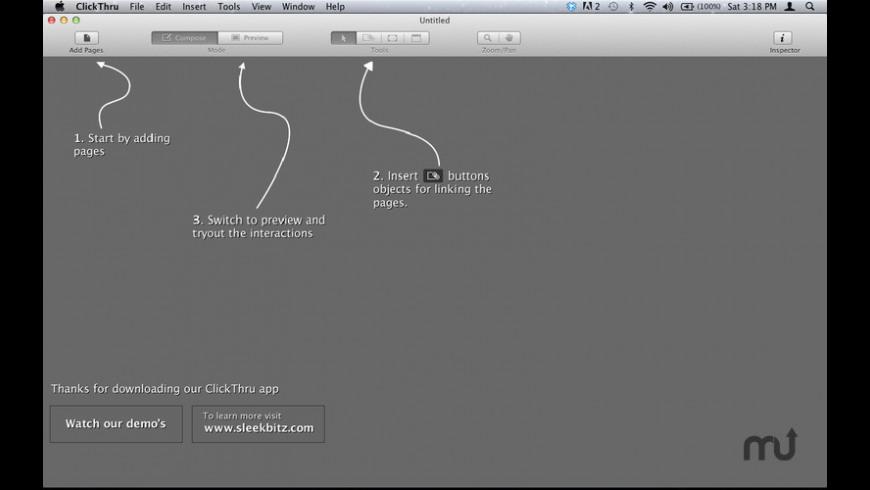 ClickThru for Mac - review, screenshots