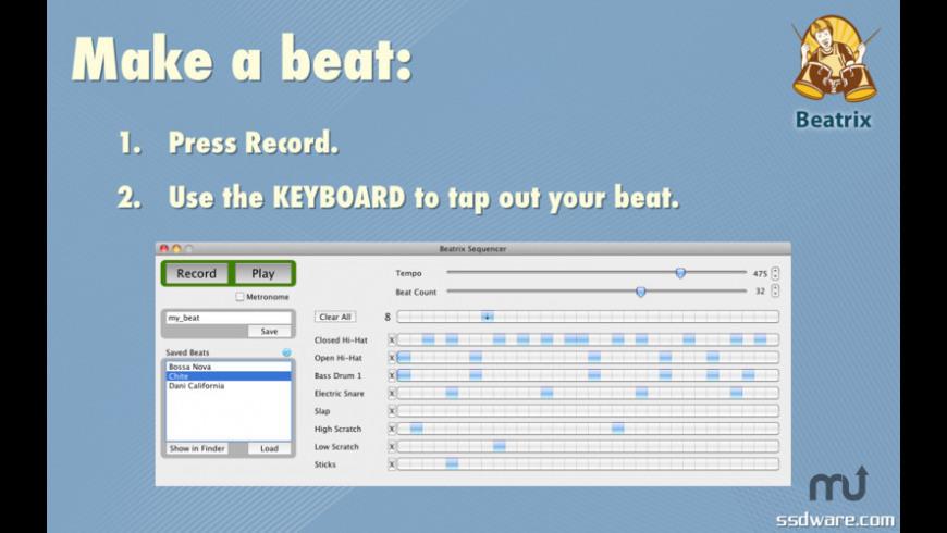 Beatrix for Mac - review, screenshots