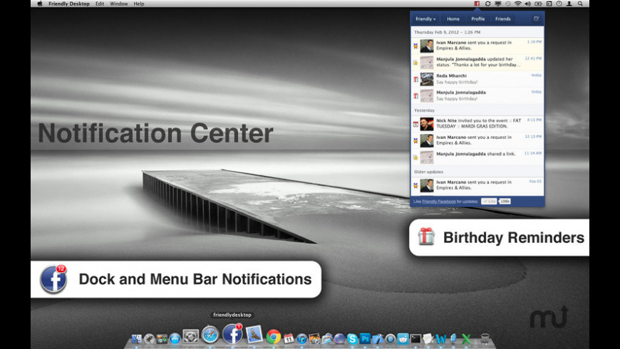 Friendly for Facebook for Mac - review, screenshots