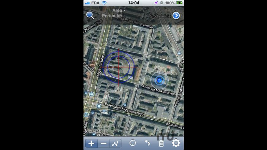 GPS Satellite Measure for Mac - review, screenshots