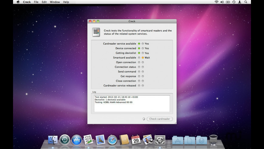 Creck for Mac - review, screenshots