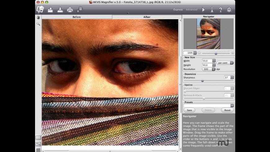 AKVIS Magnifier Business for Mac - review, screenshots