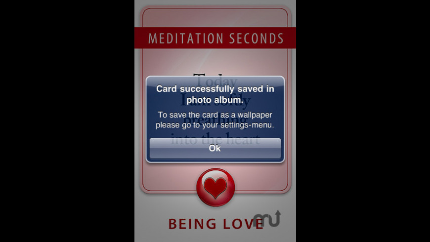 99 Meditation Seconds for Mac - review, screenshots