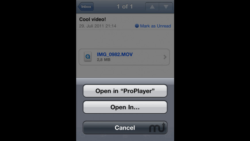 ProPlayer for Mac - review, screenshots
