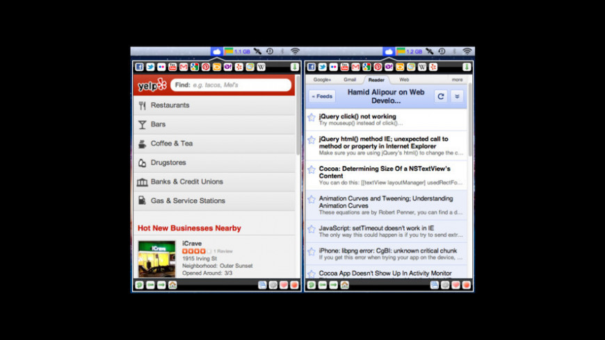 Tabs for Mac - review, screenshots