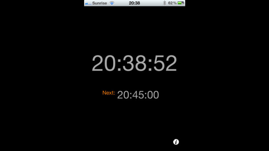 Silent Clock for Mac - review, screenshots