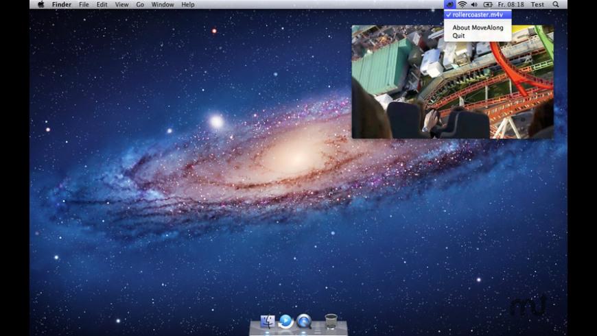 MoveAlong for Mac - review, screenshots
