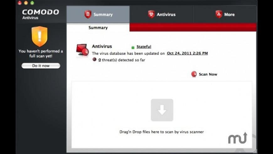 Comodo Antivirus for Mac - review, screenshots