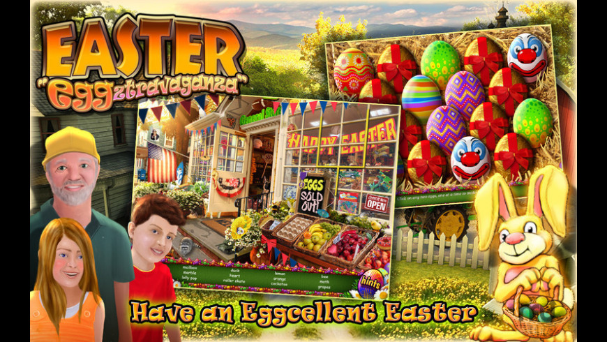 Easter Eggztravaganza for Mac - review, screenshots