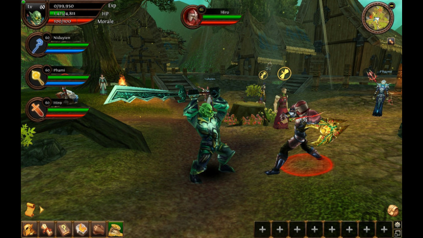 Order & Chaos Online for Mac - review, screenshots