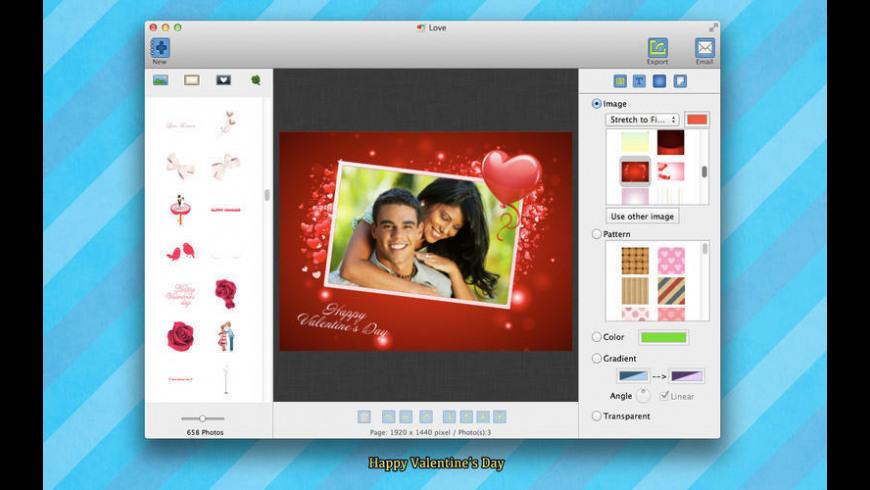 iGreetingCard Deluxe 2015 for Mac - review, screenshots