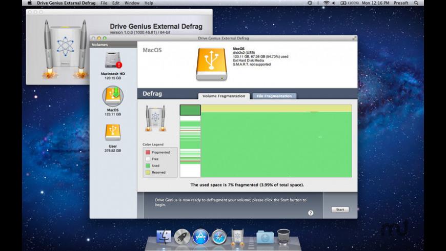 Drive Genius External Defrag for Mac - review, screenshots