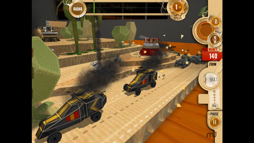 War In A Box: Paper Tanks for Mac - review, screenshots