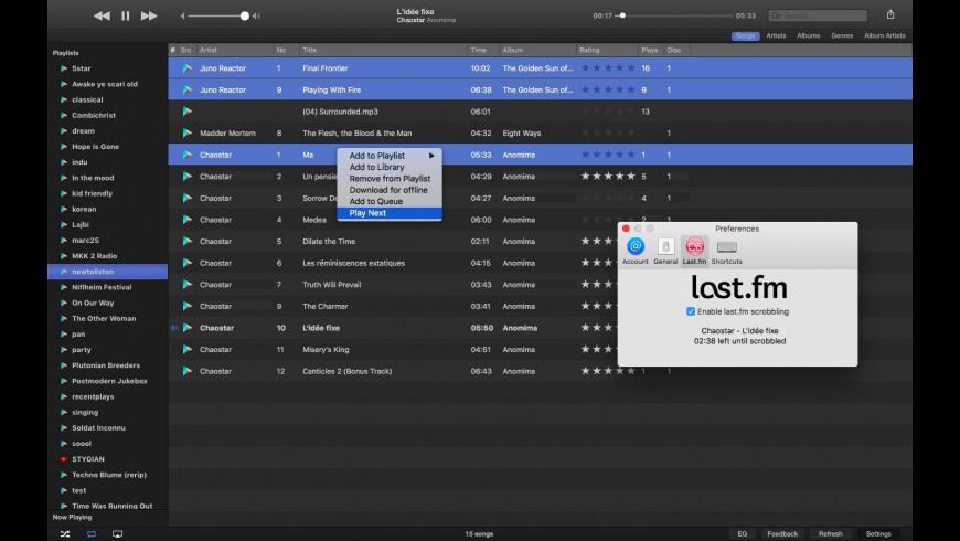 Gear Player for Mac - review, screenshots