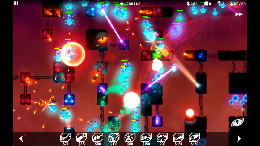 Radiant Defense for Mac - review, screenshots