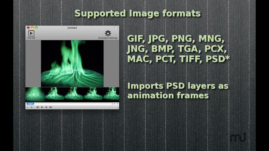 GIF Animator for Mac - review, screenshots