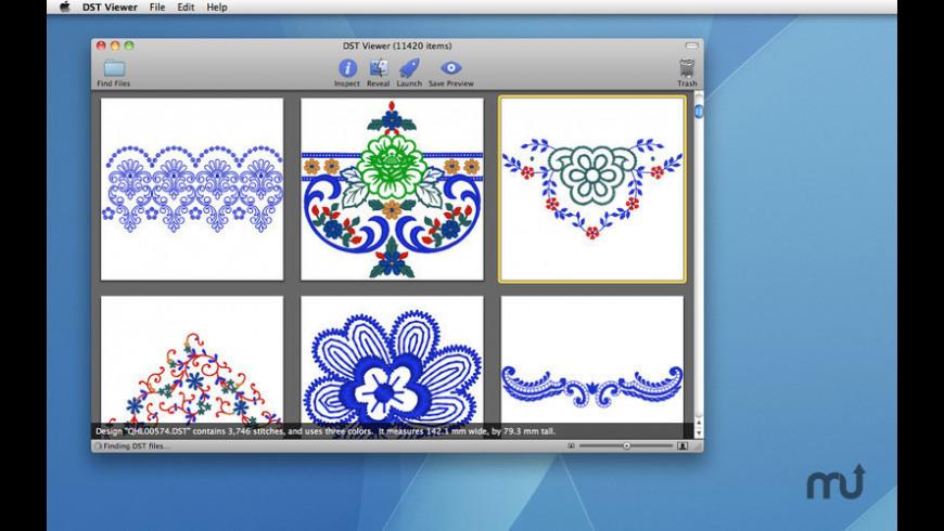 DST Viewer for Mac - review, screenshots