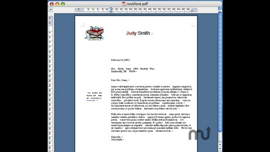 PDF2Office Professional for Mac - review, screenshots
