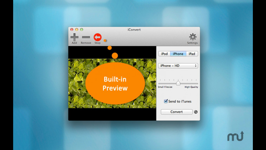 iConvert HD for Mac - review, screenshots