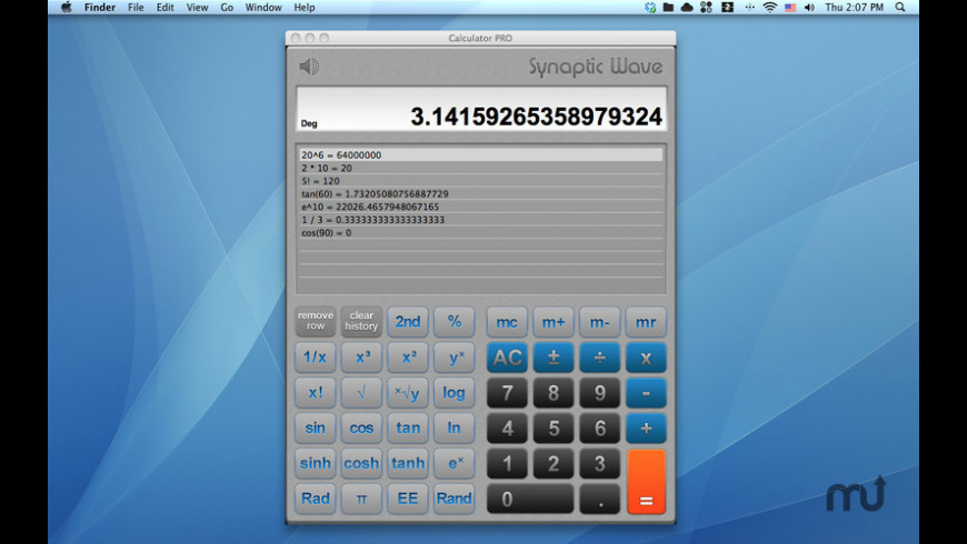 Calculator Expert for Mac - review, screenshots