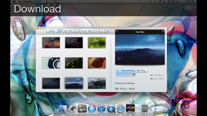 HD VideoWall for Mac - review, screenshots
