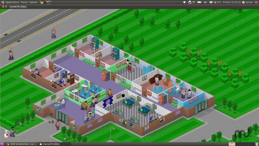CorsixTH for Mac - review, screenshots