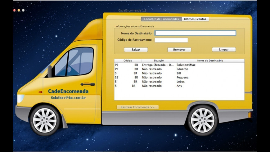 CadeEncomenda for Mac - review, screenshots