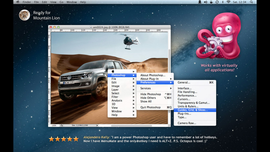 MenuMate for Mac - review, screenshots