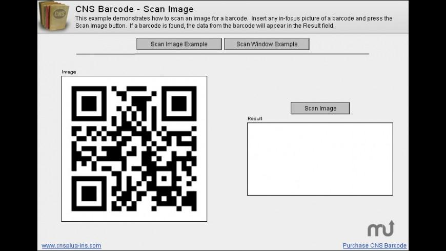 CNS Barcode for Mac - review, screenshots